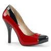 EVE-07 Black/Red Patent